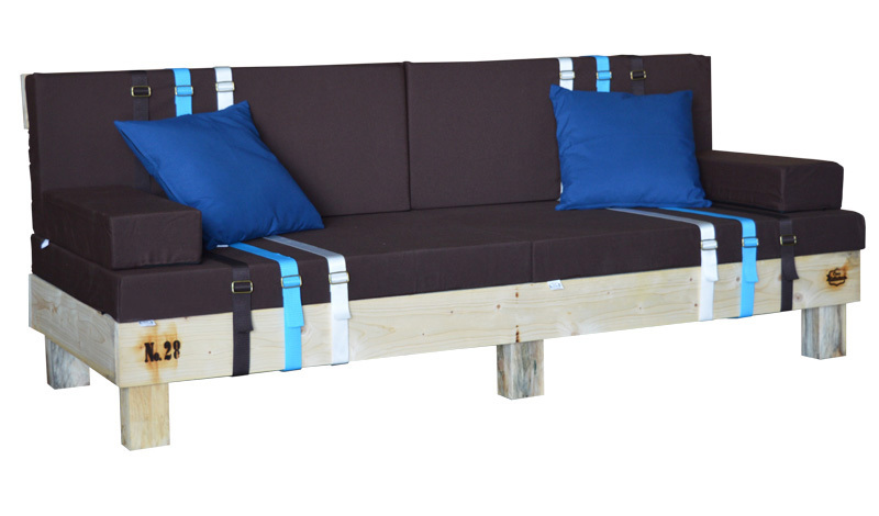 sofa hecho con palet nature 80 x 200 x 38 cm. Black Bedroom Furniture Sets. Home Design Ideas